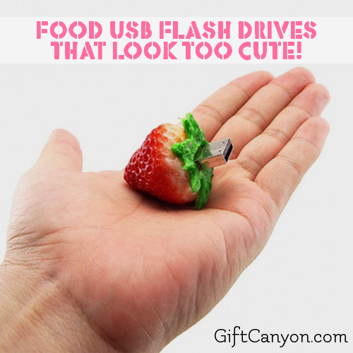 Food Shaped USB Flash Drives