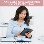 Nine Geeky Gifts Accountants and CPA's Will Love