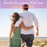 Seventh Anniversary Gift Ideas: Wool, Copper and Others
