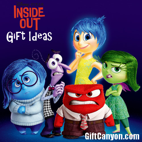 Disney's Inside Out Gift Ideas for Kids