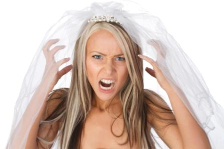 Shocked Bride