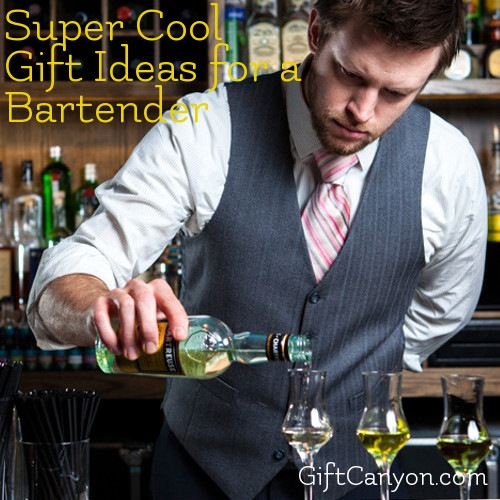 Super Cool Gift Ideas for a Bartender