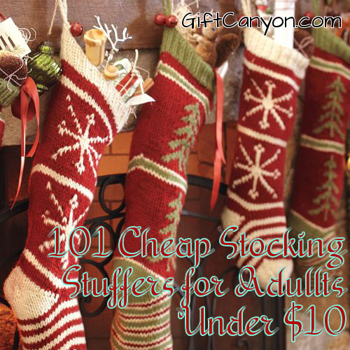 161 Stocking Stuffers for Adults Under 10 Dollars