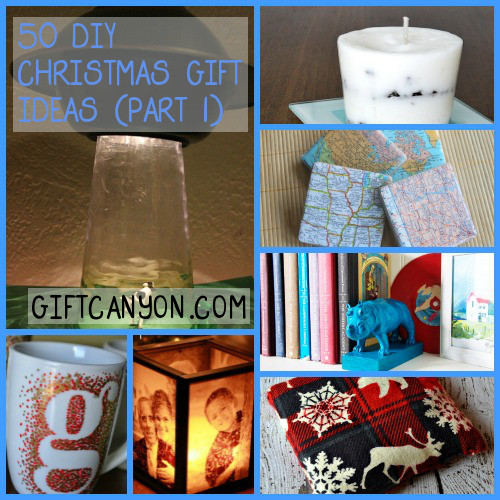 50 DIY Christmas Gift Ideas Part 1 - 50 DIY Christmas Presents You Should Start Creating Now! - Gift Canyon