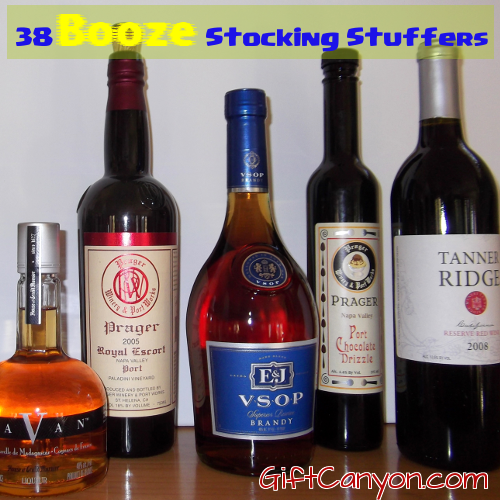 Booze Stocking Stuffers