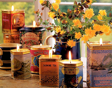 Candles in Tins + 49 More DIY Gift Ideas for Christmas