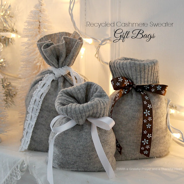 Cashmere Rustic Gift Wrapping Ideas