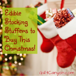 44 Edible Stocking Stuffer Ideas to Buy this Christmas!