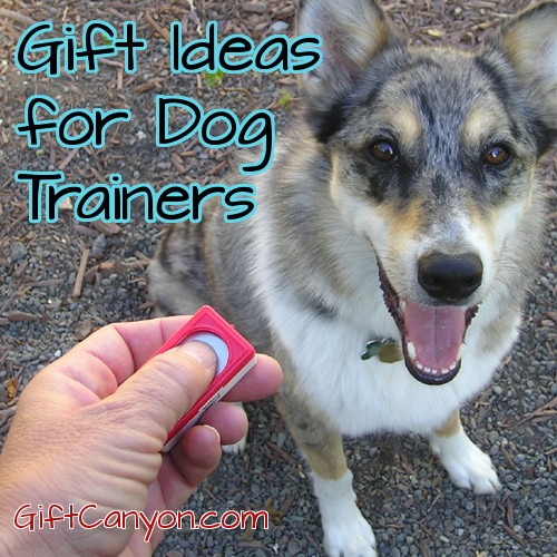 Gift Ideas for Dog Trainers