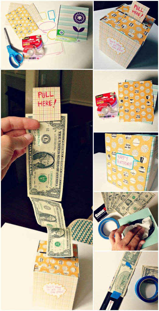 Kleenex Cash Gift Idea