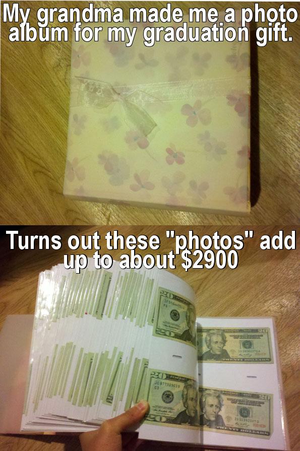 Money Album Gift Idea!