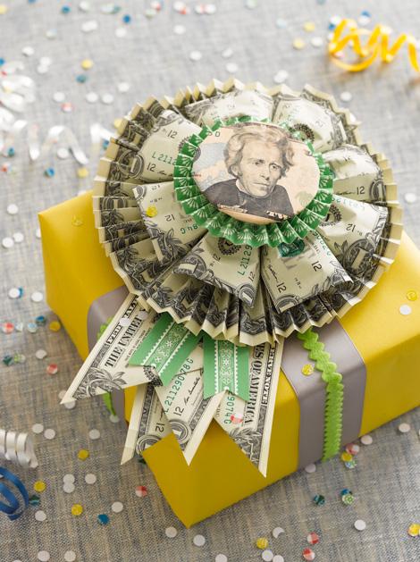 Money Rosette Cash gift