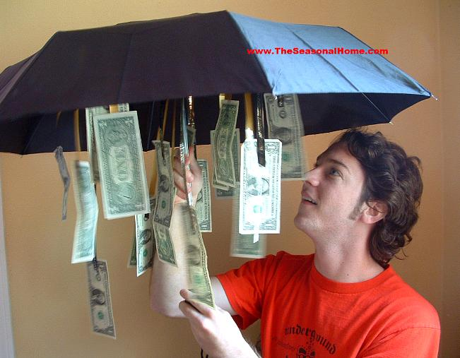 Money Umbrella Gift Idea