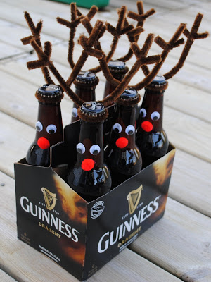 Reindeer Bottles + 49 More DIY Gift Ideas for Christmas