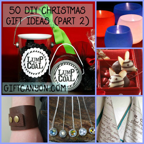 50 DIY Christmas Gift Ideas Part 2
