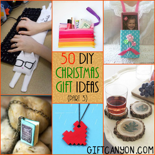 50 DIY Christmas Gift Ideas Part 3