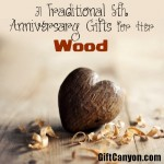 Traditional 5th Wedding Anniversary Gifts for Her: Wood