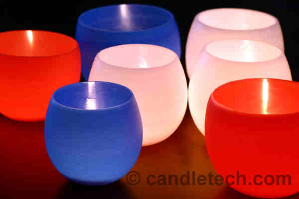 Bowl Luminaries + 49 More DIY Christmas Gift Ideas