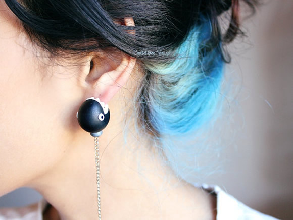 Chain Chomp Earrings + More Mario Stocking Stuffers