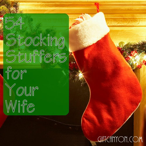 Christmas Stocking Stuffer Ideas for Wife