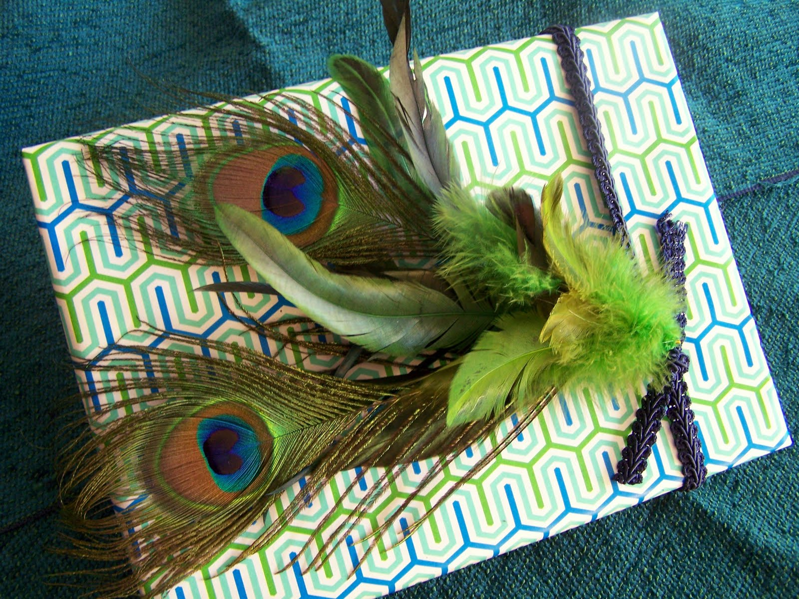 Feathers  Plus More Unusual Gift Topper Ideas