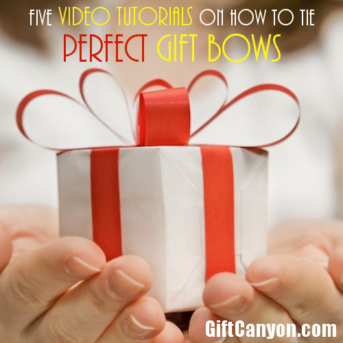 Five Video Tutorials on How to Tie Perfect Gift Bows