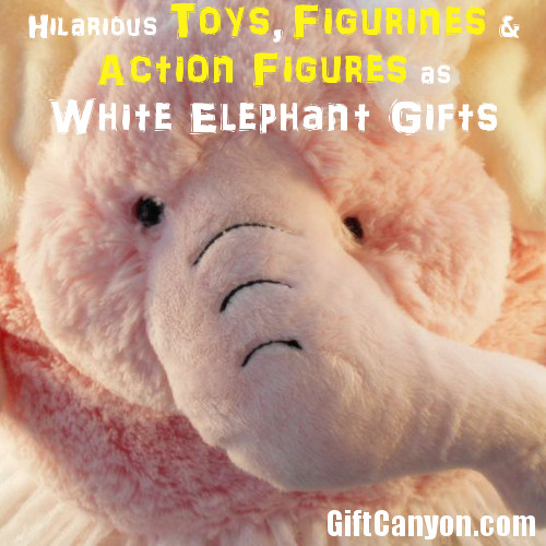 Funny Toys, Figurines and Action Figures White Elephant Gifts