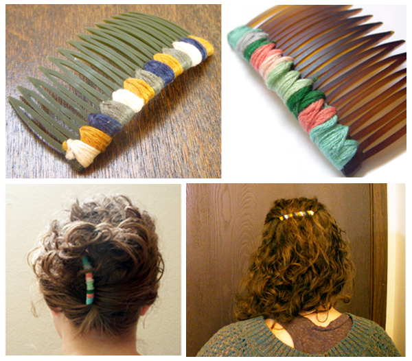 Hair Comb + 49 More DIY Christmas Gift Ideas