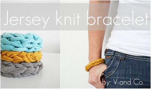 Jersey Knit Bracelets + 49 More DIY Christmas Gift Ideas