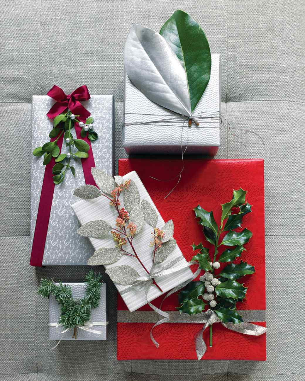 Leaf Plus More Unusual Gift Topper Ideas
