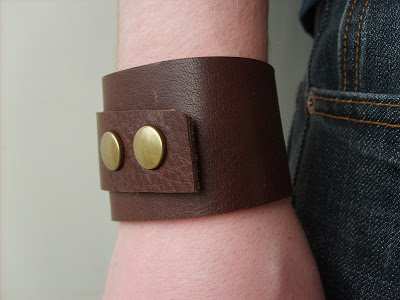 Leather Cuff + 49 More DIY Christmas Gift Ideas