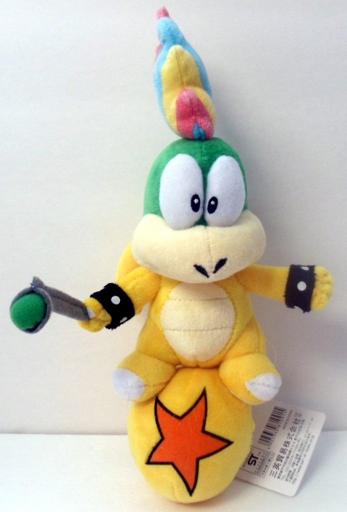 Lemmy Koopa Plush + More Mario Stocking Stuffers