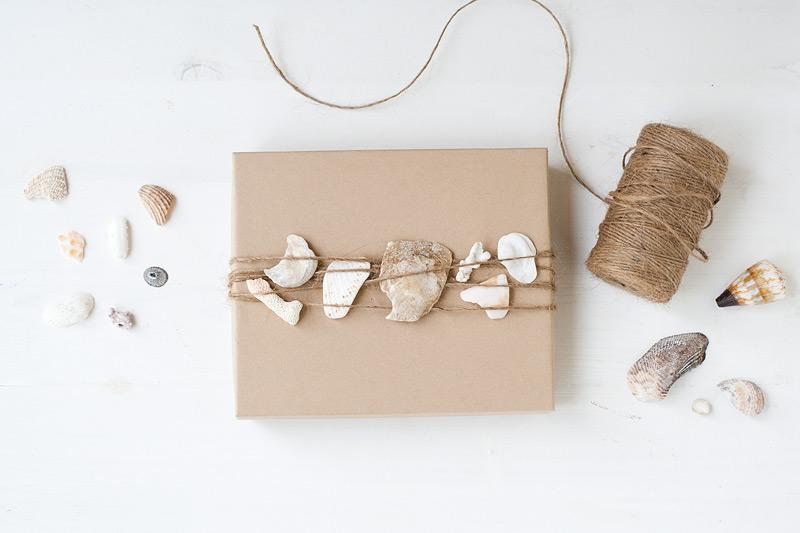 Sea Shells Plus More Unusual Gift Topper Ideas