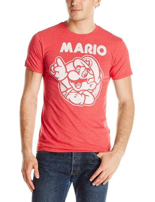 Super Mario T-Shirt + More Mario Stocking Stuffers