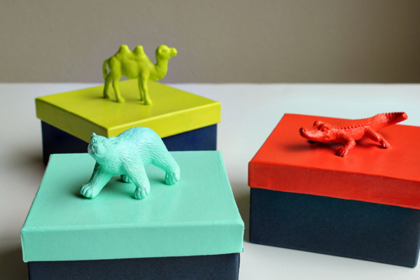 Toy Animals Plus More Unusual Gift Topper Ideas