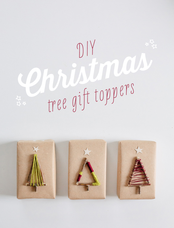 Twig Trees Plus More Unusual Gift Topper Ideas