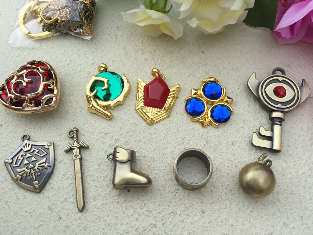 Zelda Pendants + More Legend of Zelda Stocking Stuffers