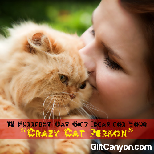 12 Purrfect Cat Gift Ideas for Your Crazy Cat Person