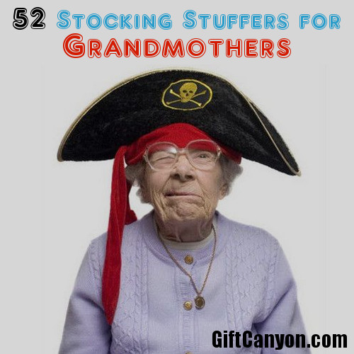 52 Stocking Stuffers for Grandmothers