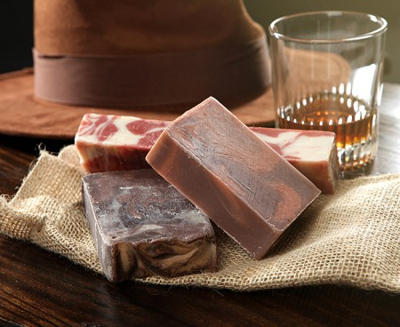 Bacon Whiskey and Coffee Soaps