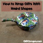 5 Video Tutorials on How to Wrap Gifts With Weird Shapes