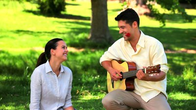 Write a song, sing it to your partner. Corny but very romantic.