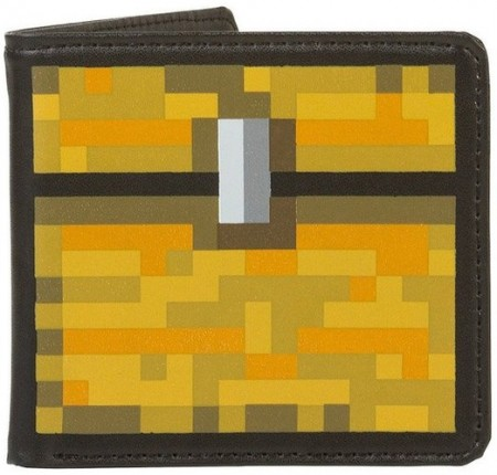 Minecraft Treaure Chest Wallet