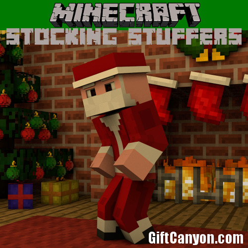 Minecrafts Stocking Stuffers