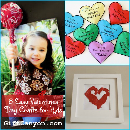 8 Easy Valentines Day Crafts for Children