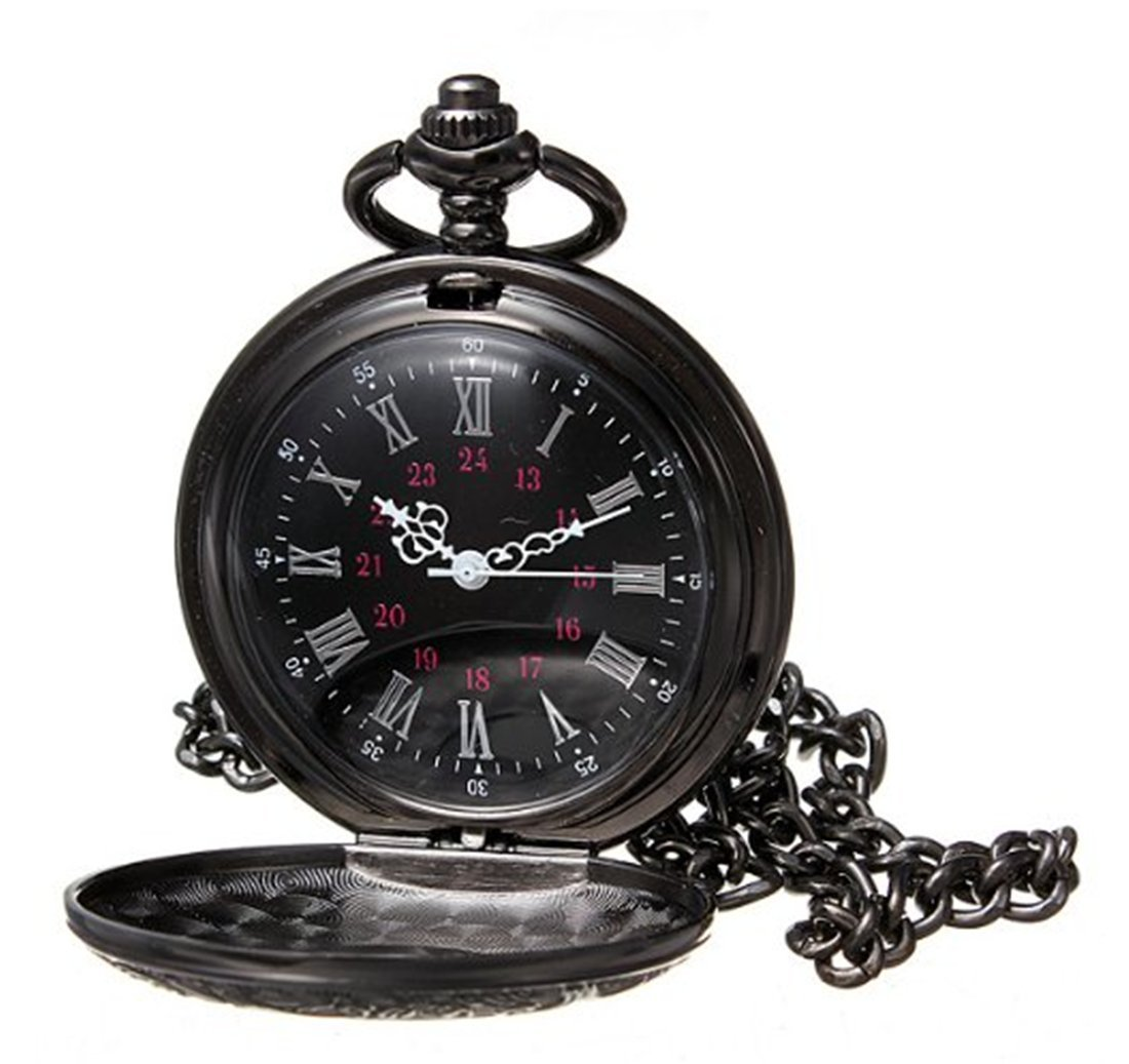 Black Shiny Pocketwatch