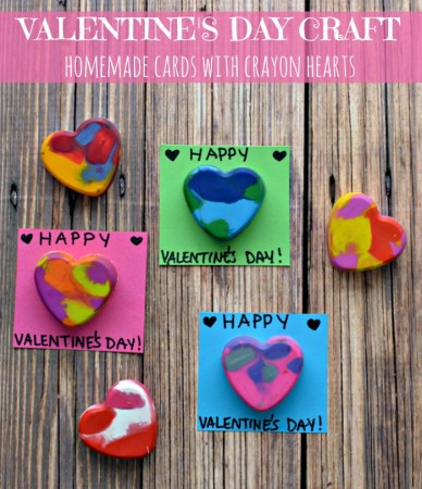 Crayon Heart Cards