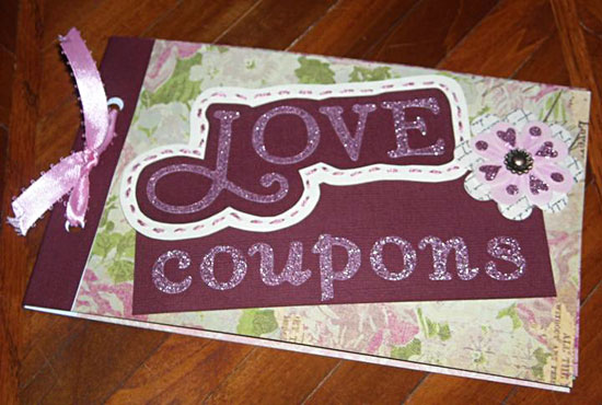 DIY Valentines Day Present For Him: Personalized Love Coupons