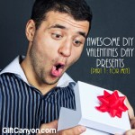 Awesome DIY Valentines Day Gifts [Part 1: Five Gifts for Men]
