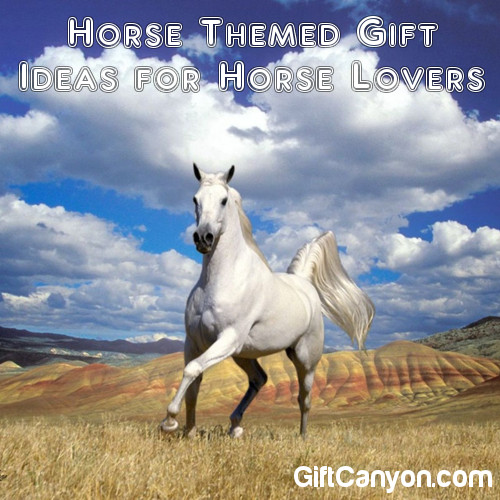 Horse Themed Gift Ideas for Horse Lovers - Gift Canyon
